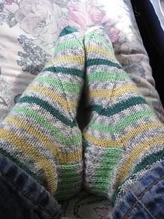 Pistachio Gelato Socks