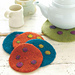 Felted Trivet & Coasters pattern