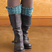 Cabled Boot Toppers pattern