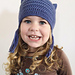 Soft Kitty Toddler Cat Hat pattern