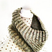 Left Twisted and Broken Cowl pattern
