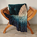 Fansea throw blanket or wrap scarf pattern