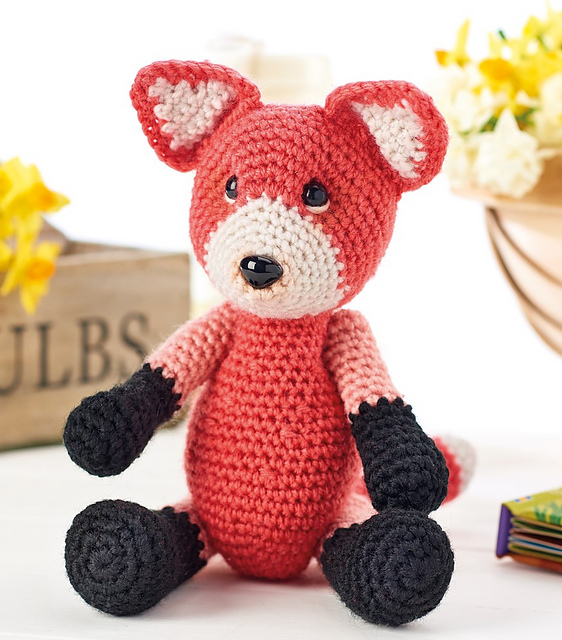 Foxes Archives - Amigurumi Today | 640x562