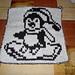 DF-Topflappen Pinguin pattern