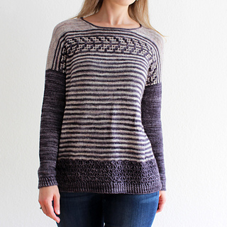 Felicitas (The Arrow Sweater) pattern by Lisa Hannes