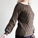 Rock Formation Sweater pattern