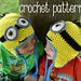 Crochet Minion Despicable Me Hat pattern