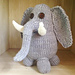 Everett the Elephant pattern