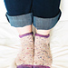 Luke's Hot Cakes Socks pattern
