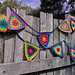 Colourful Crochet Bunting pattern