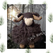 Marty the Musk ox pattern