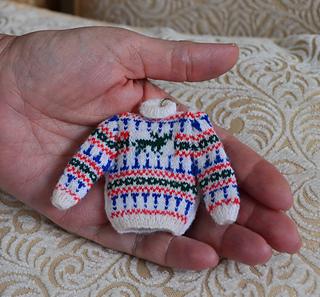 Miniature Dollhouse Cloth Garden Tote Green Thumb