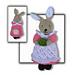 Beatrix Flufftail Rabbit Toy pattern