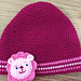 Lion Applique Slouchy Hat pattern