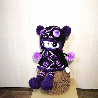 amigurumi goth doll – AmigurumiBB   320x320