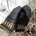 Gunlög, two-end knitted mittens pattern