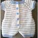 Kinzie Baby Romper pattern