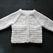 AMITY Baby Cardigan Jacket pattern