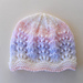 Wave of Light Baby Hat pattern