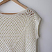 Amma granny square top pattern