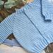 Baby Raglan Sweater pattern