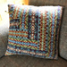 Folk Fairisle Cushion pattern