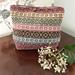 Mosaic Carpet Project Bag pattern