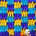 colourful blocks pattern
