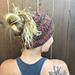 Chunky Knit Messy Bun Hat pattern