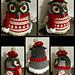 Huge owl pattern