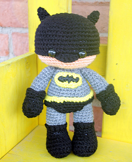 43 Free Batman Amigurumi Pattern Collection Pictures - Page 3 of ... | 320x260