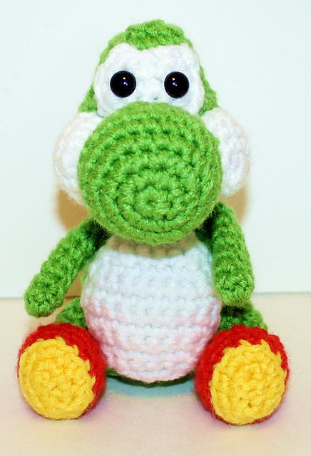 Musings of an Average Mom: Free Mario Crochet patterns | 640x436