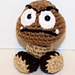 Mini Goomba Gamer Friend pattern
