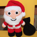 Santa Christmas Mini Amigurumi pattern