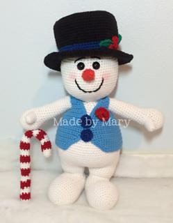 Crochet snowman amigurumi pattern - Amigurumi Today   320x249