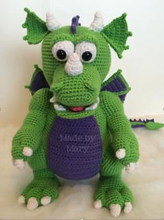 Crochet Dragon (Crochet For Free) | Crochet dragon pattern ... | 320x239