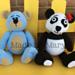 Panda and Bear Amigurumi pattern
