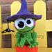 Frog on a Pumpkin Amigurumi pattern