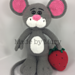 Mouse with Strawberry Amigurumi pattern