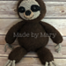 Sloth Amigurumi pattern