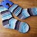 Full Fat Combination Plate Socks pattern