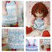 STARRY Doll Pinafore pattern