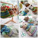 Sock Yarn Pinafore & Cardigans pattern