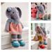 Tearoom Girl Elephant (Method 1) pattern