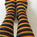 Biscotte's Basic Toes-up Heel-flap Socks pattern