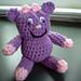 Purple Priscilla Monster pattern