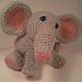 Lucas Baby Elephant Amigurumi Stuffed Softie pattern