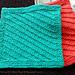 Diagonal Slip Stitch Dishcloth #7 pattern
