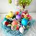 Easter Egg Flower Pods pattern