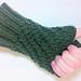 Knitted Spiral Fingerless Gloves pattern